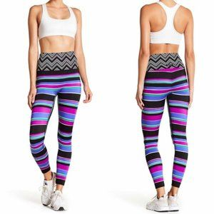 K-DEER Sneaker Length Leggings in Tropicana - NWT